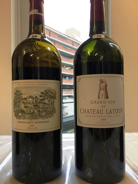 Latour and Lafite 2007 Magnums