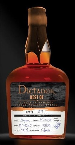 Dictador Rum 1979 Bottle