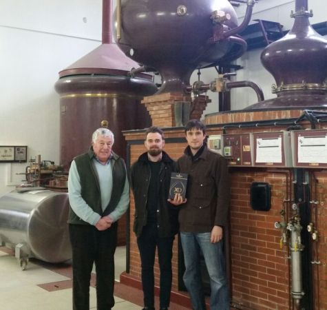 Visit to Chateau Bertrand in Cognac