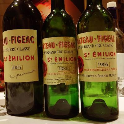 Chateau Figeac Bottles