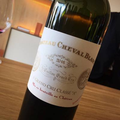 Cheval Blanc Bottle