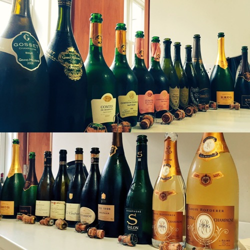 Champagne Line Up