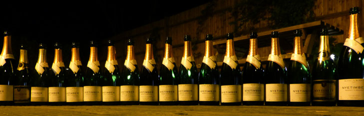 the largest nyetimber tasting ever organised